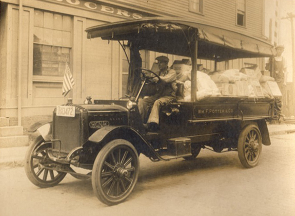 1915 Delivery Truck - Wm. F. Potter 7 Co. new Bedford, Ma. www.WhalingCity.net