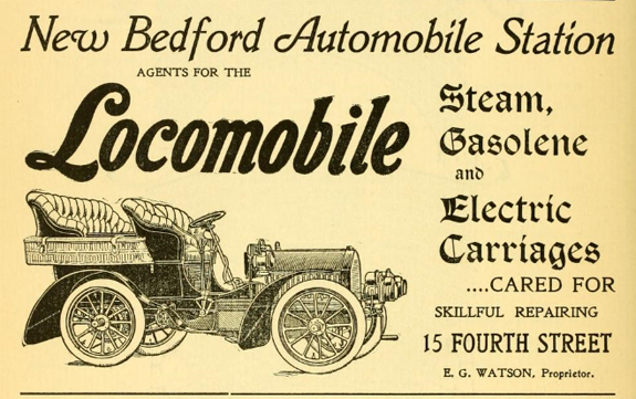 1918 Locomobile Dealer and Repair - 4th St. New Bedford, Ma. - www.WhalingCity.net