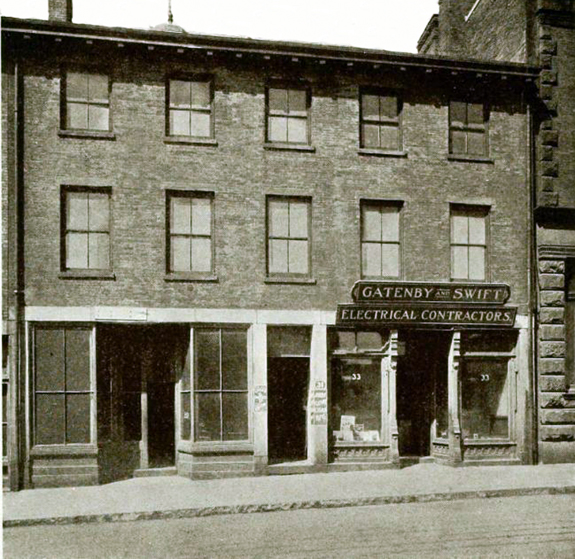 First building of the Merchants bank in New Bedfod - www.WhalingCity.net