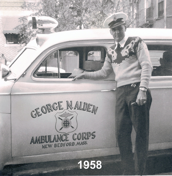 Normand Chartier - Goerge N.Alden Ambulance  - www.WhalingCity.net