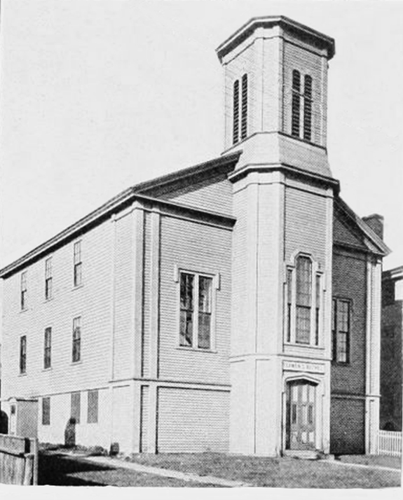 New BEdford Seaman's Bethel - Johnnycake Hill - www.WhalingCity.net