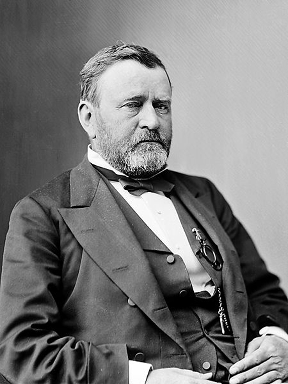 Ulysses S. Grant visited New BEdford, Ma.  - www.WhalingCity.net
